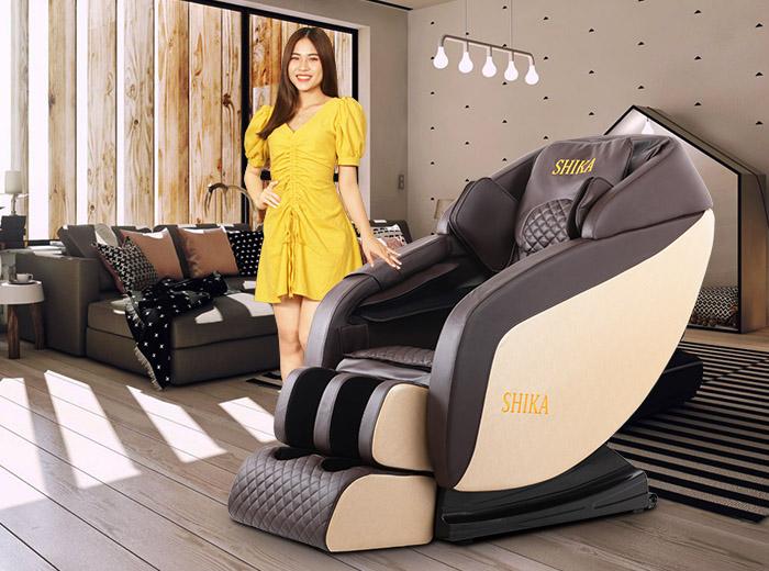 Vì sao nên mua ghế massage toàn thân Shika?
